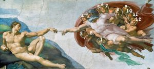 the brain in the creation of Adam