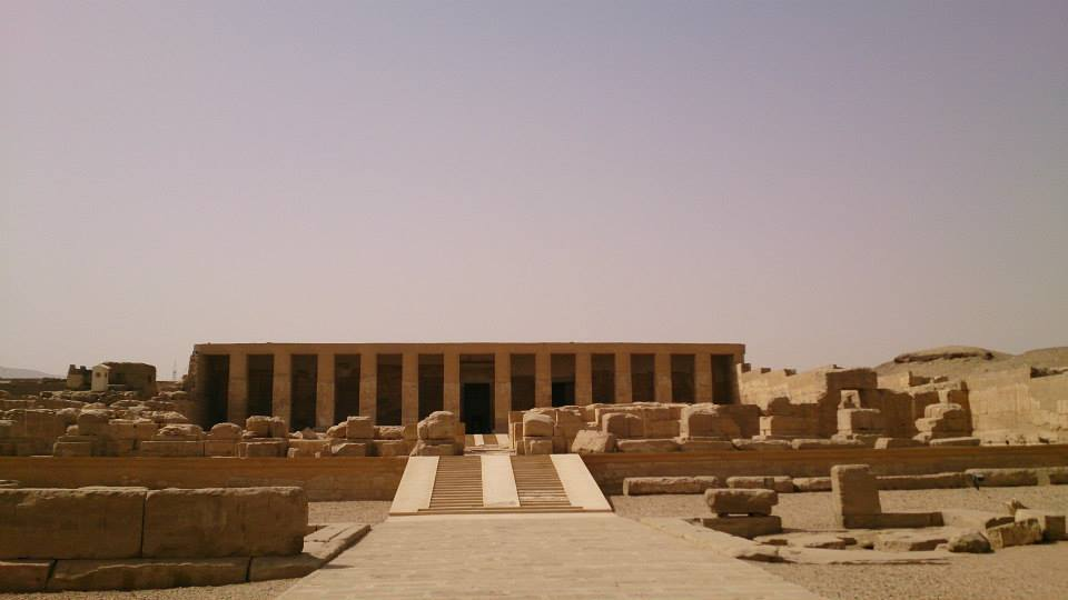 temple of Seti at Abydos
